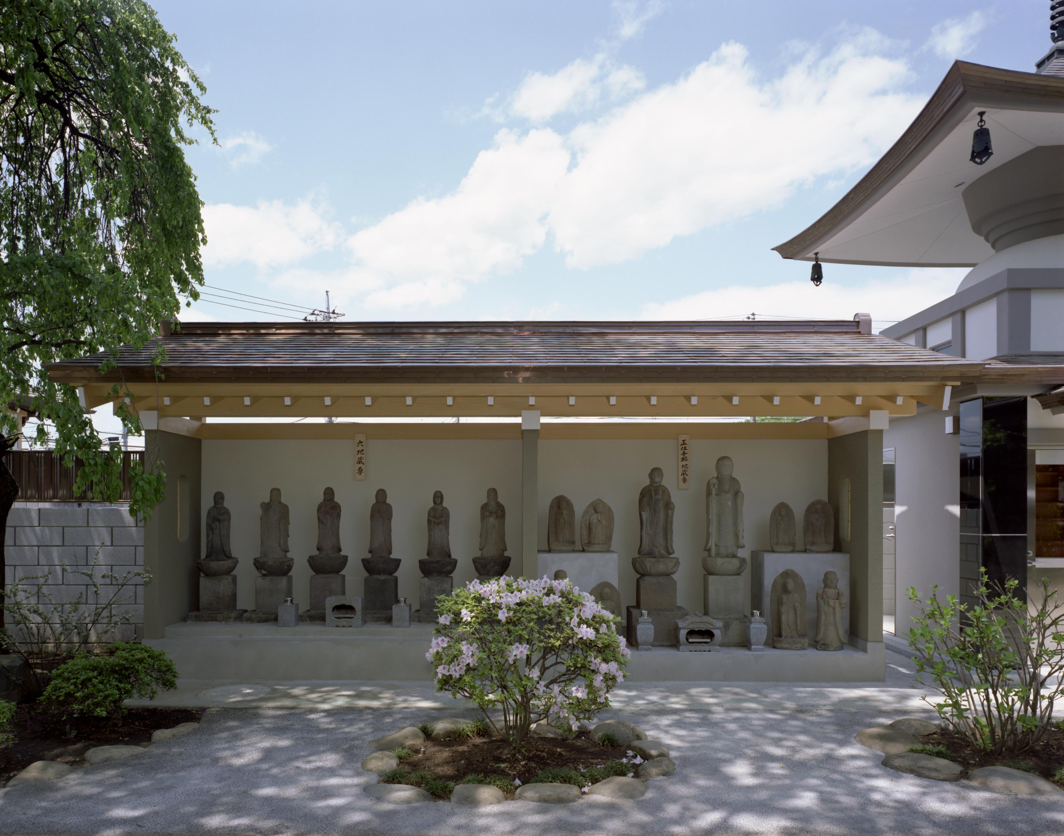 正位寺跡地蔵尊と六地蔵尊3
